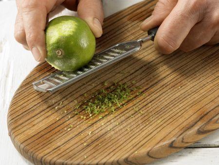 Erdbeer-Melonen-Salat: Zubereitungsschritt 4