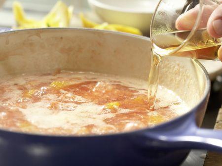 Erdbeer-Orangen-Marmelade: Zubereitungsschritt 6