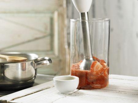 Erdbeer-Ragout auf Milchreis: Zubereitungsschritt 5
