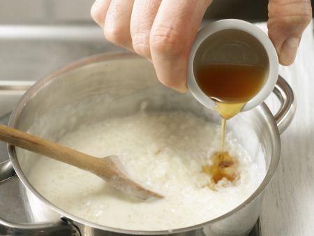 Erdbeer-Ragout auf Milchreis: Zubereitungsschritt 8