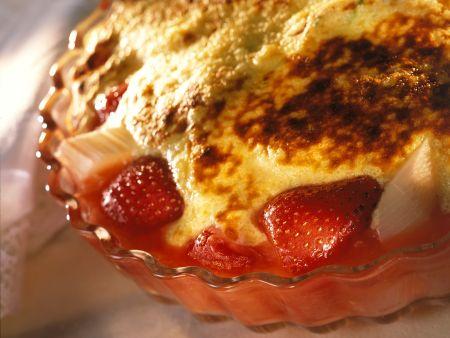 Erdbeer-Rhababergratin