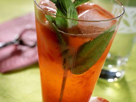 Erdbeer-Rum-Drink