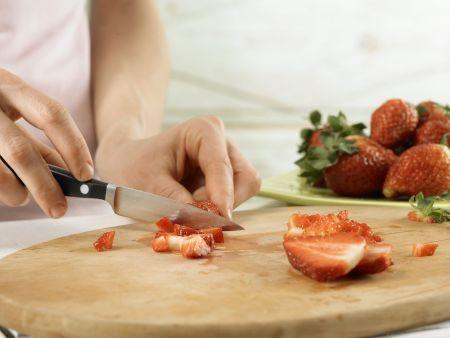 Erdbeer-Smoothie: Zubereitungsschritt 2