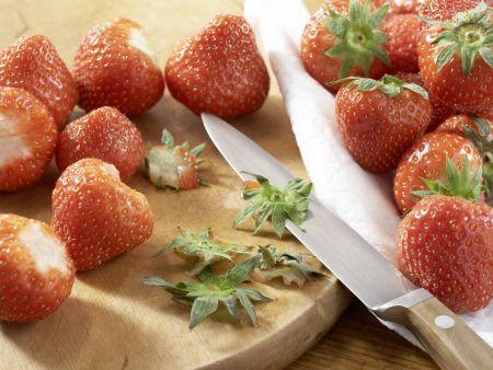 Erdbeer-Tiramisu: Zubereitungsschritt 1
