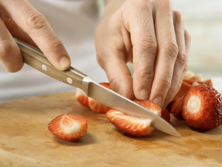 Erdbeermüsli: Zubereitungsschritt 4