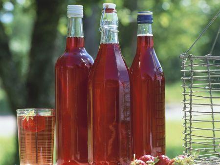 Kochbuch für Erdbeer-Sirup Rezepte