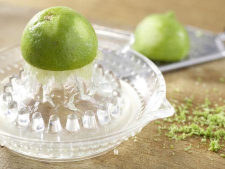Erdbeertorte mit Limettenguss: Zubereitungsschritt 7