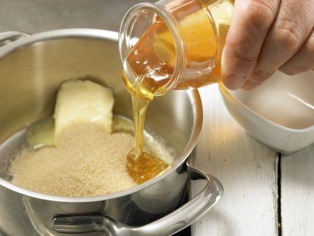 Erdnuss-Riegel: Zubereitungsschritt 3