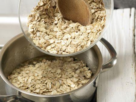 Erdnuss-Riegel: Zubereitungsschritt 4