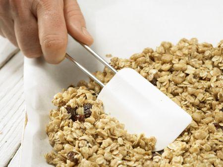 Erdnuss-Riegel: Zubereitungsschritt 6