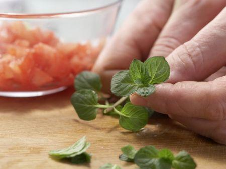 Eskariol-Melonen-Salat: Zubereitungsschritt 3
