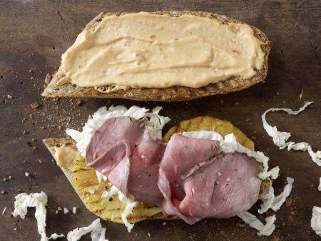 Exotisches Roastbeef-Sandwich: Zubereitungsschritt 5