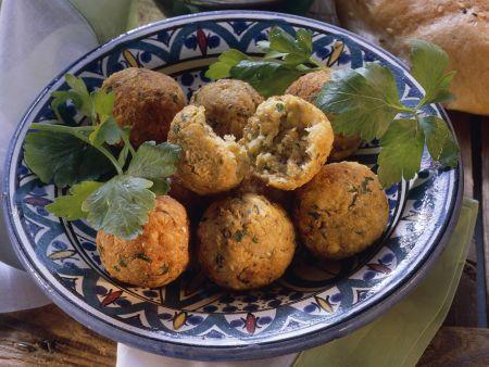 Falafel (Kichererbsenbällchen)