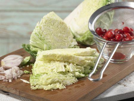 Fasan mit Cranberrysauce: Zubereitungsschritt 4