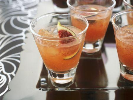 Feigen-Cocktail mit Wodka