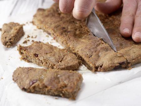 Feigen-Cranberry-Riegel: Zubereitungsschritt 8