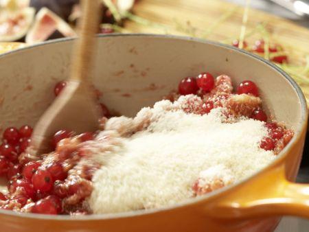 Feigen-Johannisbeer-Marmelade: Zubereitungsschritt 5