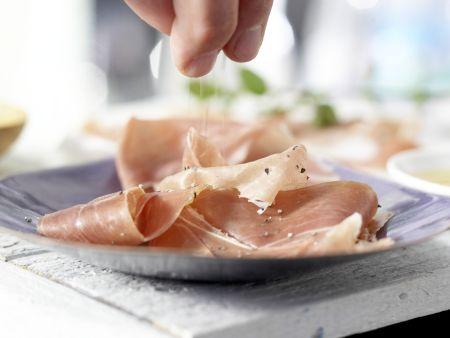 Feigen auf Parmaschinken: Zubereitungsschritt 2