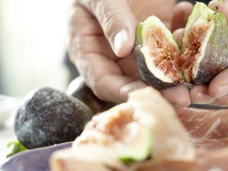 Feigen auf Parmaschinken: Zubereitungsschritt 4