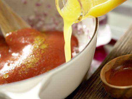Feine Zander-Weißwürstchen: Zubereitungsschritt 9