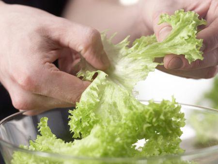 Feiner Blattsalat: Zubereitungsschritt 1