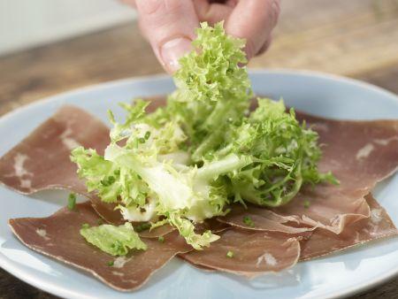 Feiner Blattsalat: Zubereitungsschritt 5