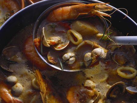Feiner Meeresfrüchteeintopf (Zarzuela)