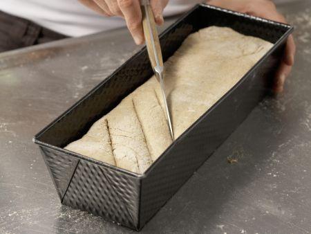 Feines Weizenmischbrot: Zubereitungsschritt 4