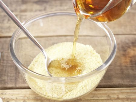 Fenchel-Birnen-Couscous: Zubereitungsschritt 1