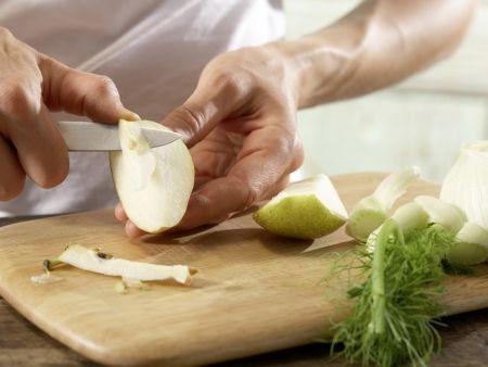Fenchel-Birnen-Salat: Zubereitungsschritt 1
