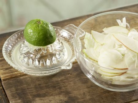 Fenchel-Birnen-Salat: Zubereitungsschritt 2