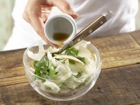 Fenchel-Birnen-Salat: Zubereitungsschritt 4