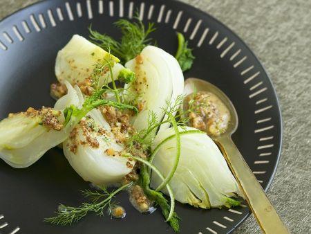 Fenchel mit Senf-Zitronen-Vinaigrette