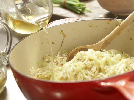 Fenchel-Risotto: Zubereitungsschritt 7