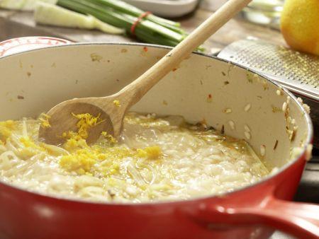 Fenchel-Risotto: Zubereitungsschritt 9