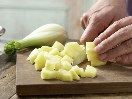 Fenchelbrei mit Hähnchen: Zubereitungsschritt 2