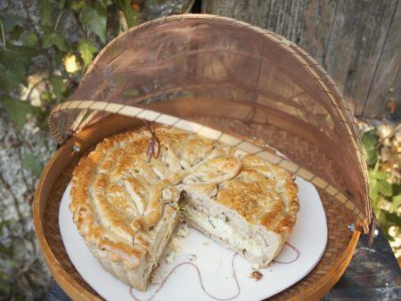 Feta-Kräuter-Kuchen