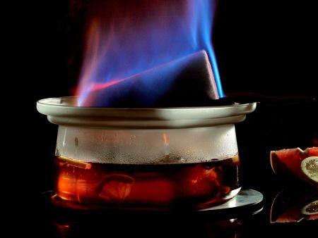 Rezept: Feuerzangenbowle