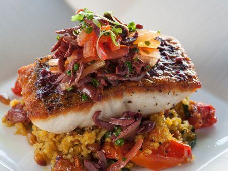 fisch auf gem se quinoa eat smarter. Black Bedroom Furniture Sets. Home Design Ideas