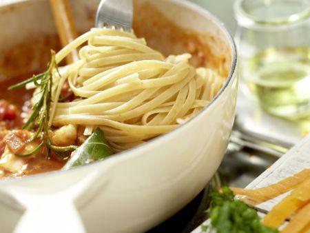 Fisch-Bolognese: Zubereitungsschritt 8