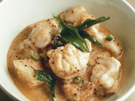 Fisch Curry nach Malabar-Art (Indien)