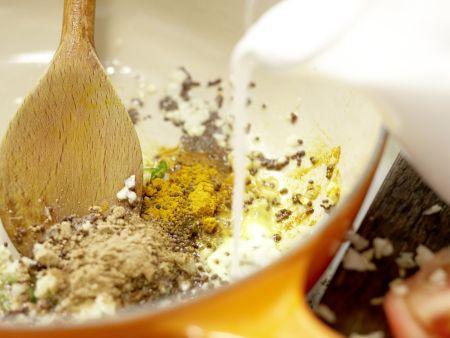 Fisch-Kokos-Curry: Zubereitungsschritt 5