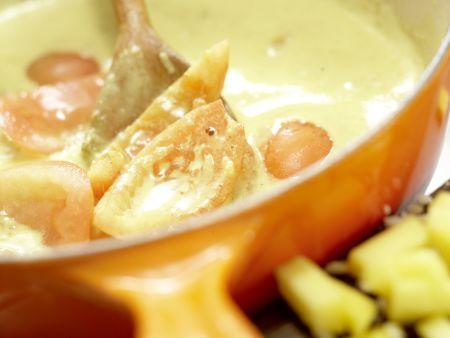 Fisch-Kokos-Curry: Zubereitungsschritt 6