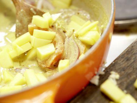Fisch-Kokos-Curry: Zubereitungsschritt 7