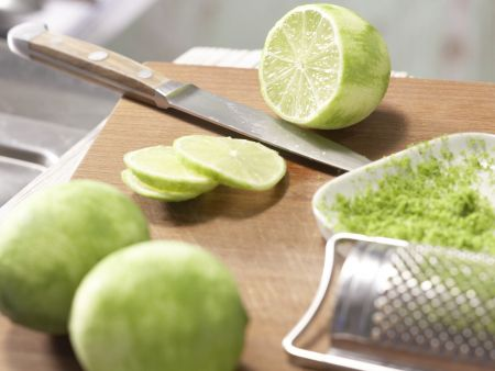 Fisch-Limetten-Päckchen: Zubereitungsschritt 3