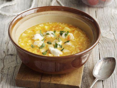 Fisch-Reis-Suppe