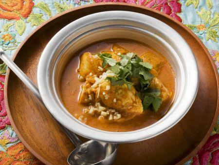Fischcurry nach bengalischer Art