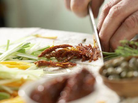 Fischfilet-Päckchen: Zubereitungsschritt 2