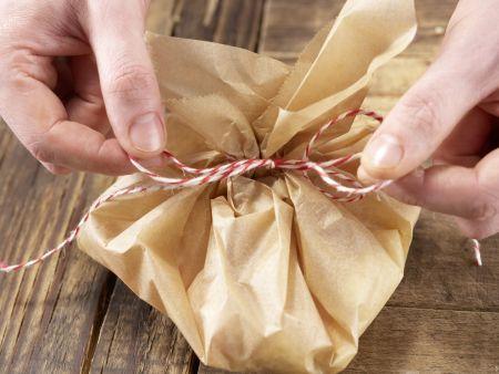 Fischfilet in Pergament: Zubereitungsschritt 5