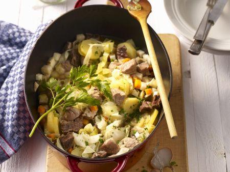 Fleischeintopf mit Gemüse